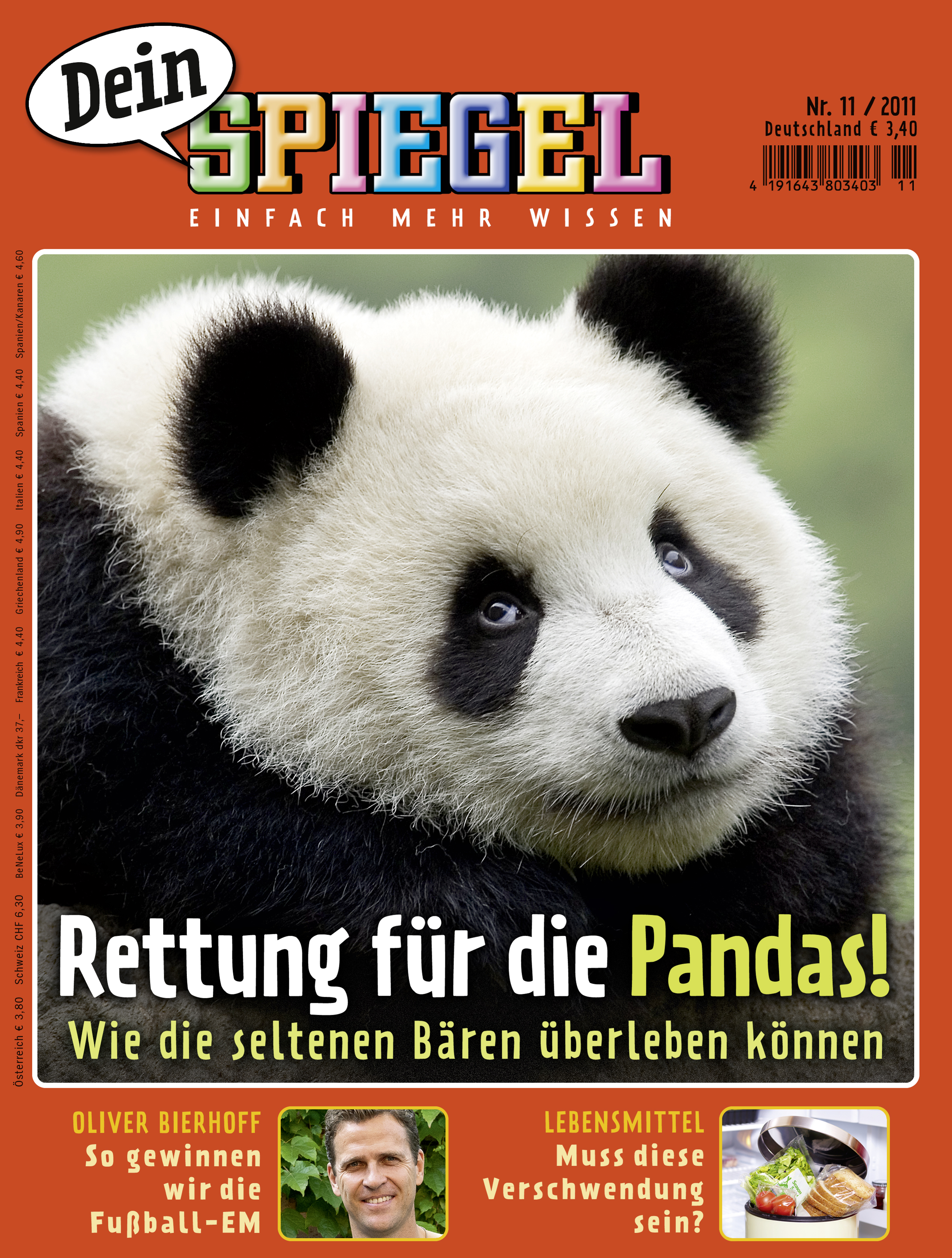 Dein Spiegel – Reportage über Pandas