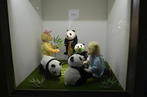 Die Großen Pandas bei Teddys