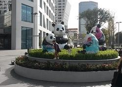 """""""1st Panda"""" – Ausstellung"""